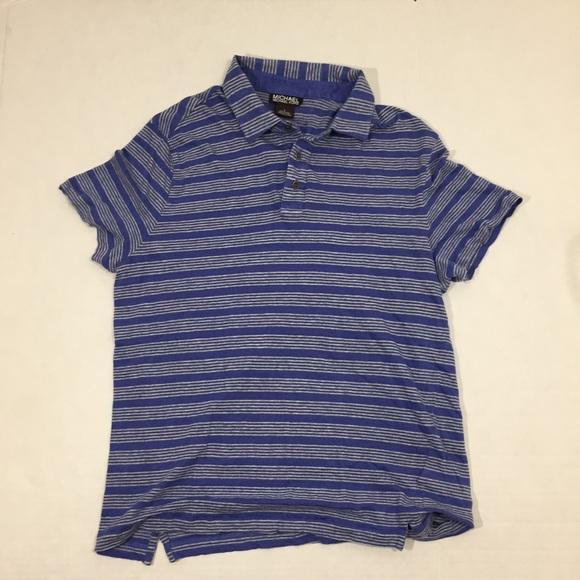 0b98d205 Michael Kors Shirts   Mens Striped Polo Shirt L   Poshmark